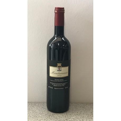 Italien, italiensk rødvin, Montarsiccio IGT Toscana Rosso, Casa Sola