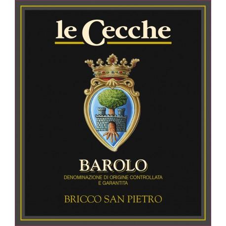 Italien, italiensk rødvin, Barolo Brico San Pietro, Le Cecche