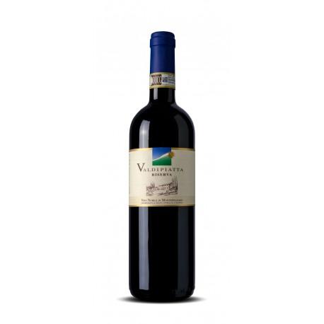 Italien, italiensk rødvin, Nobile de Montepulciano Riverva DOCG, Valdipiatta