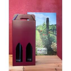 2 vine i gaveæske