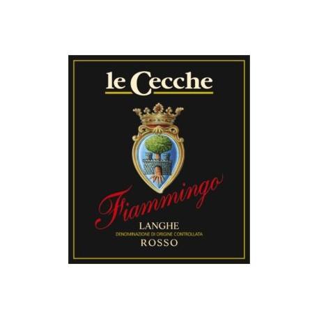 Italien, italiensk rødvin, Fiamingo, Langhe Rosso, Le Cecche