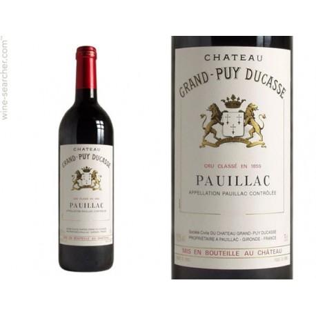Frankrig, fransk rødvin, Prelude a Grand-Puy Ducasse, Pauillac Rouge, René Vedrenne